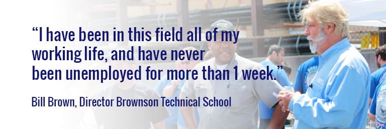 Brownson Technical School Director Bill Brown